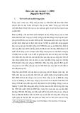 Báo cáo Cao su  quí 1 - 2005