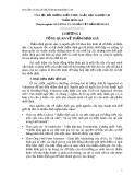 TÀI LIỆU BỒI DƯỠNG KIẾN THỨC NGẮN HẠN NGHIỆP VỤ  THẨM ĐỊNH GIÁ Chuyên ngành: NGUYÊN LÝ CĂN BẢN VỀ THẨM ĐỊNH GIÁ