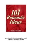 This is a free bonus version of 101 Romantic Ideas