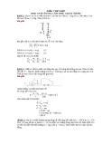 Bài tập động lực học chất điểm (có giải)