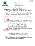 Đề thi: Môn xác suất thống kê-Đề 2