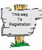 On-site Registration - đôi điều cần lưu ý