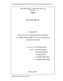 Chuyên đề 15: Đề xuất các giải pháp phòng tránh và giảm thiểu thiên tai lũ lụt, hạn hán tỉnh Quảng Nam