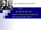 Bài thảo luận: Nguyên lí cơ bản của chủ nghĩa mac lê nin