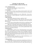 Đề cương chi tiết môn học lịch sử nhà nước và pháp luật Việt Nam