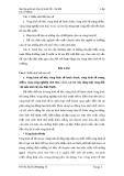 Bài tập giữa kỳ: Địa lý Kinh Tế - Xã Hội