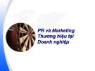 PR và Marketing Thương hiệu tại Doanh nghiệp.