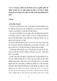 Đề thi Triết Học  - câu 11