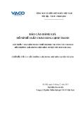 Báo cáo đánh giá  Số: 06/TVĐT-2010-VACO, HỒ SƠ ĐỀ XUẤT CHÀO HÀNG CẠNH TRANH