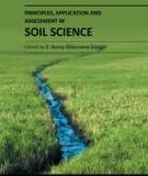 PRINCIPLES, APPLICATION AND ASSESSMENT IN SOIL SCIENCE