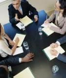 Để nhân viên tham gia hội ý hiệu quả nhất