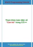 Win32ProgrammingTutorial Tham khảo toàn diện về Con trỏ trong C/C++
