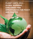 PLANET EARTH 2011 – GLOBAL WARMING CHALLENGES AND OPPORTUNITIES FOR POLICY AND PRACTICE_2