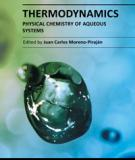THERMODYNAMICS –  PHYSICAL CHEMISTRY OF  AQUEOUS SYSTEMS