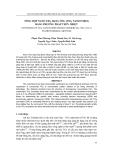 TỔNG HỢP NANO TIO2 DẠNG ỐNG (TIO2 NANOTUBES) BẰNG PHƯƠNG PHÁP THỦY NHIỆT