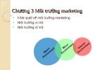 Chương 3: Môi trường marketing