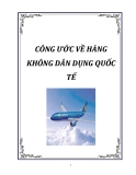 CÔNG ƯỚC HÀNG KHÔNG DÂN DỤNG QUỐC TẾ