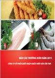 BÁO CÁO THƯỜNG NIÊN 2011 CÔNG TY CỔ PHẦN XNK THỦY SẢN CẦN THƠ