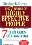 7 thói quen giúp bạn thành đạt