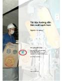 Tài liệu hướng dẫn Sản xuất sạch hơn- ngành xi măng