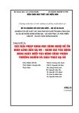 Chuyên đề 7a: CÁC GIẢI PHÁP KHOA HỌC CÔNG NGHỆ ĐỂ ỔN ĐỊNH LÒNG DẪN HẠ DU – ĐÁNH GIÁ TÁC ĐỘNG DÒNG CHẢY DƯỚI TÁC ĐỘNG CÔNG TRÌNH THƯỢNG NGUỒN VÀ KHAI THÁC HẠ DU