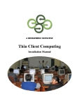A HEMISPHERIC INITIATIVE  Thin Client Computing Installation Manual