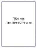 Tiểu luận: Tìm hiểu ns2 và demo