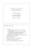 ET4020 - Xử lý tín hiệu số Giới thiệu về môn học