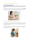 7 bí quyết giúp phát triển não bé từ trong bụng mẹ