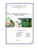 Đề Tài: Chiến lược xuất khẩu trực tiếp  sản phẩm bưởi Tân Triều sang thị trường Đức của DNTN Quê Hương Tân Triều