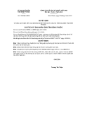 Quyết định số 1064/QĐ-UBND