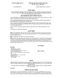 BỘ GIAO THÔNG VẬN TẢI -------Số: 983/QĐ-BGTVTCỘNG HÒA XÃ HỘI CHỦ NGHĨA VIỆT