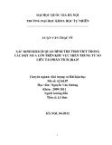 LUẬN VĂN THẠC SỸ  XÁC ĐỊNH KHÁCH QUAN HÌNH THẾ THỜI TIẾT TRONG CÁC ĐỢT MƯA LỚN TRÊN KHU VỰC MIỀN TRUNG TỪ SỐ LIÊU TÁI PHÂN TÍCH JRA25