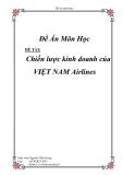 """""""Chiến lược kinh doanh của VIỆT NAM Airlines"""""""