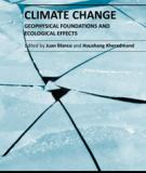 CLIMATE CHANGE – GEOPHYSICAL FOUNDATIONS AND ECOLOGICAL EFFECTS_2
