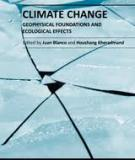 CLIMATE CHANGE –  GEOPHYSICAL  FOUNDATIONS AND  ECOLOGICAL EFFECTS_1