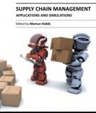 SUPPLY CHAIN MANAGEMENT APPLICATIONS AND SIMULATIONS