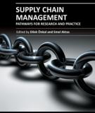 SUPPLY CHAIN MANAGEMENT – PATHWAYS FOR RESEARCH AND PRACTICE