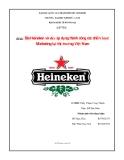 Đề Tài: Bia Heineken và việc áp dụng thành công các chiến lược marketing tại thị trường Việt Nam