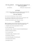 Quyết định số705/QĐ-TTg