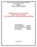 Đề Tài: CHIẾN DỊCH TUNG SẢN PHẨM  NƯỚC MẮM TÁM PHÚ  VÀO THỊ TRƯỜNG THÀNH PHỐ HỒ CHÍ MINH