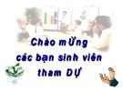 Bài giảng Luật thương mại quốc tế - ThS. Nguyễn Xuân Hiệp