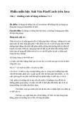 Phần mềm học Anh Văn FlasfCards trên Java