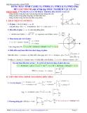 Đề thi vá đáp án môn vật lý 12, giải nhanh toán vật lý trên máy tính casio