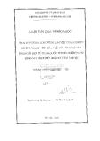 Luận văn thạc sĩ khoa học: Tính toán phân tích chế độ làm việc của lưới điện 220KV Lào Cai - Yên Bái - Việt Trì - Vĩnh Yên giai đoạn cấp điện từ Trung Quốc xét đến chế độ sự cố đóng máy phát điện Thác Bà vào làm việc