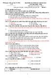 Bài kiểm tra định kì cuối học kì 1, năm học 2010 - 2011 Môn Lịch sử & Địa lí - Lớp 5