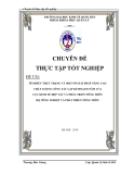 Luận văn: Tìm hiểu thực trạng và một số giải pháp nâng cao chất lượng công tác lập kế hoạch của Cục KTHT PTNT bộ NNPTNT