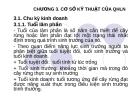 Bài giảng Phần 1. Cơ sở kinh tế và kỹ thuật của QHLN  - Chương  3. Cơ sở kĩ thuật của quy hoạch lâm nghiệp - ThS. Vi Việt Đức