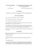 Quyết định số 729/QĐ-TTg