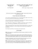 Quyết định số 874/QĐ-UBND